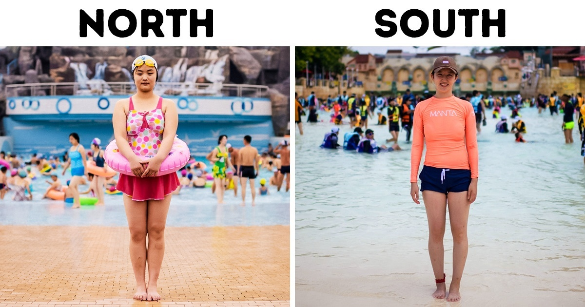 A Photographer Shows Differences Between North and South Korea