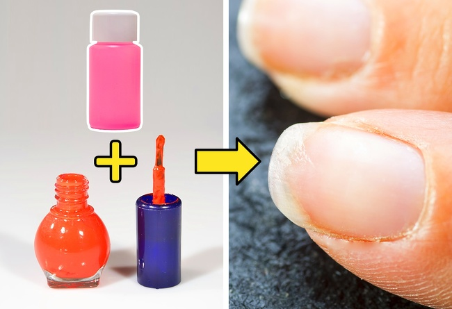 Solvent as a way to dilute dried nail polish