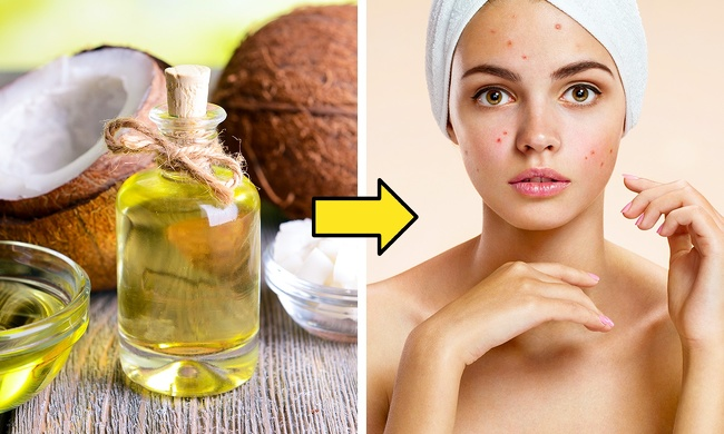 Cosmetic oil instead of facial cream