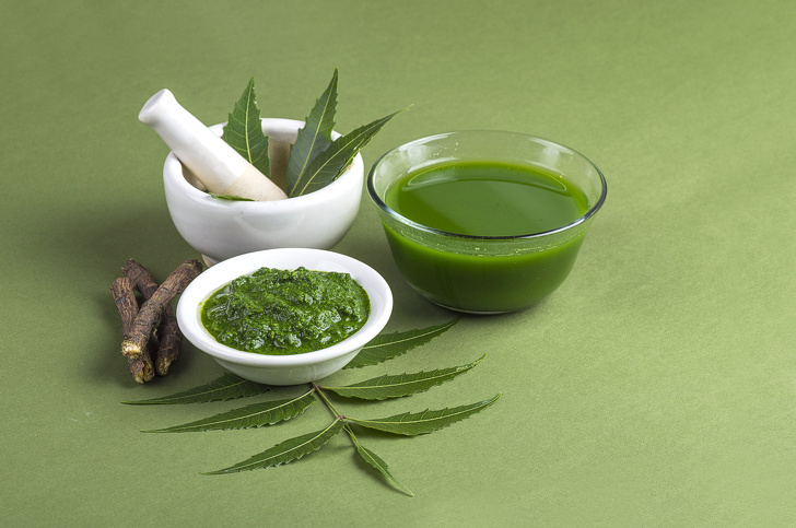 Neem leaf extracts