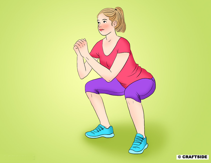 30-Day Butt Transform  Workout Plan  squats