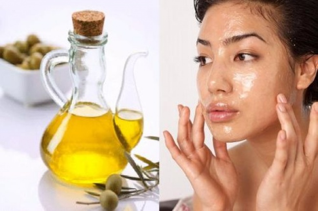 Use olive oil to get glowing and moisturized skin