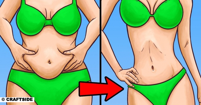 This Secret Will Help You Reduce Inches Around Your Waist in Just 5 Minutes a Day
