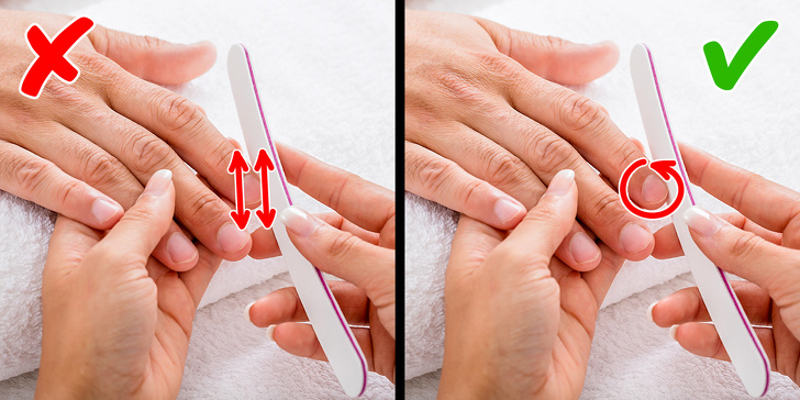 manicure tips in hindi at home