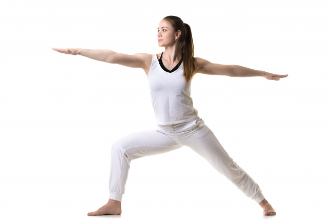 yoga poses for breast firming