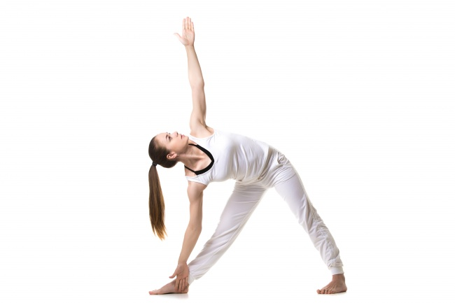 yoga exercise for tightening breast