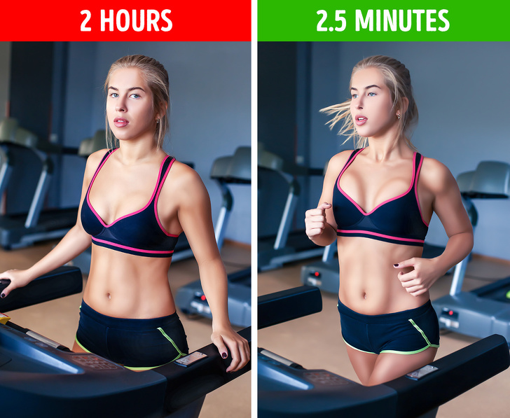 how to lose a few inches in a week