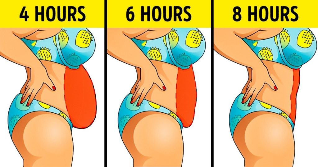 how to lose a few ounces fast