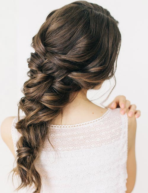 30 Stunning Easy Bridal Hairstyle Trend 2020