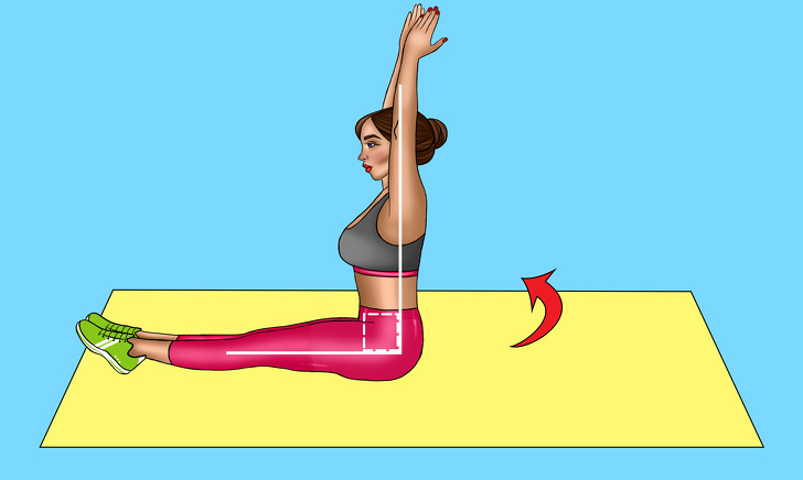 exercise for flat belly and waist at home