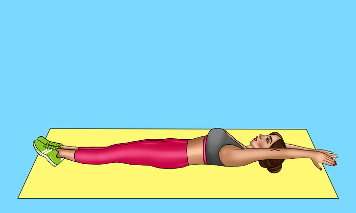 flat stomach workout at home