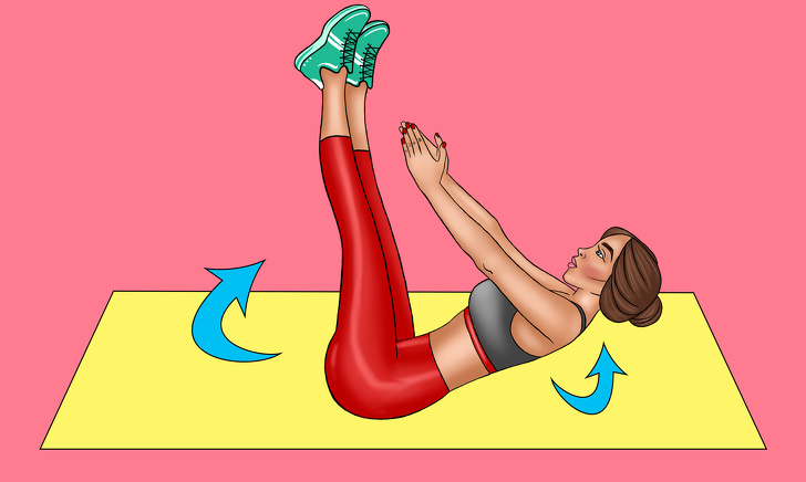 best exercise for flat belly at home