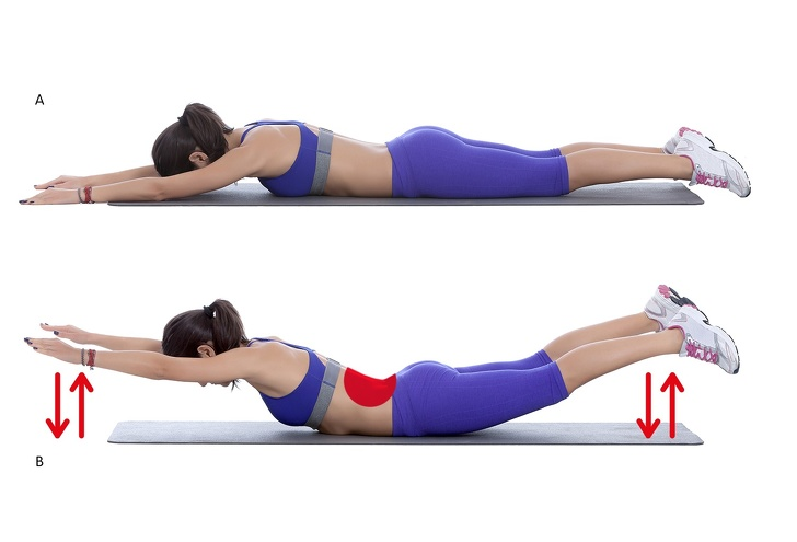 20 Minutes Exercises to Get Rid of Back and Armpit Fat