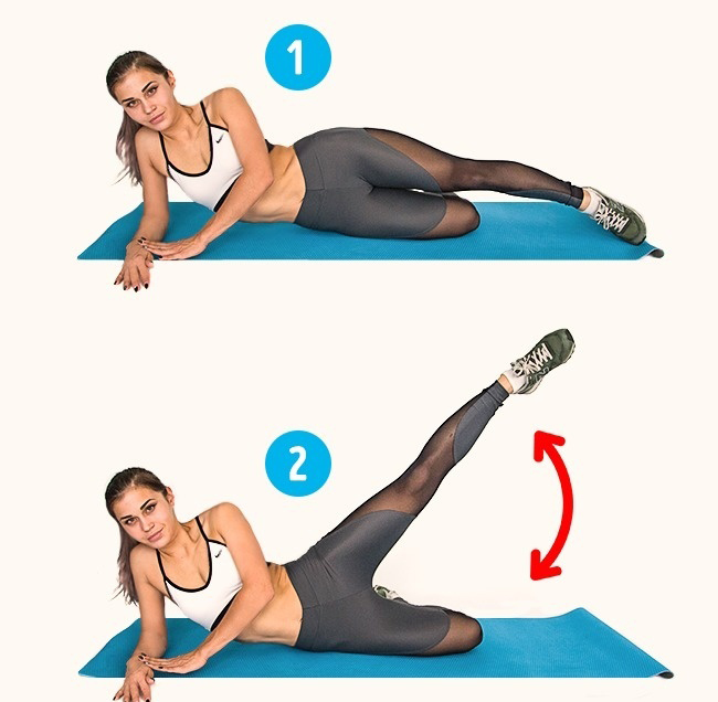 6 Perfect Exercises To Get Rid of Cellulite in 2 Weeks
