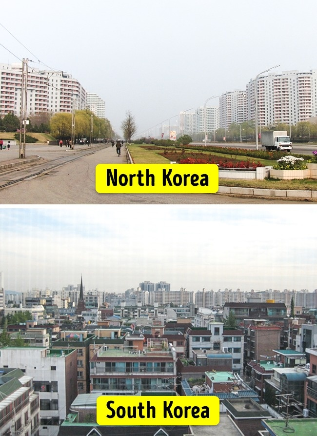 15 Striking Changes in North and South Korea After 70 Years of Separation