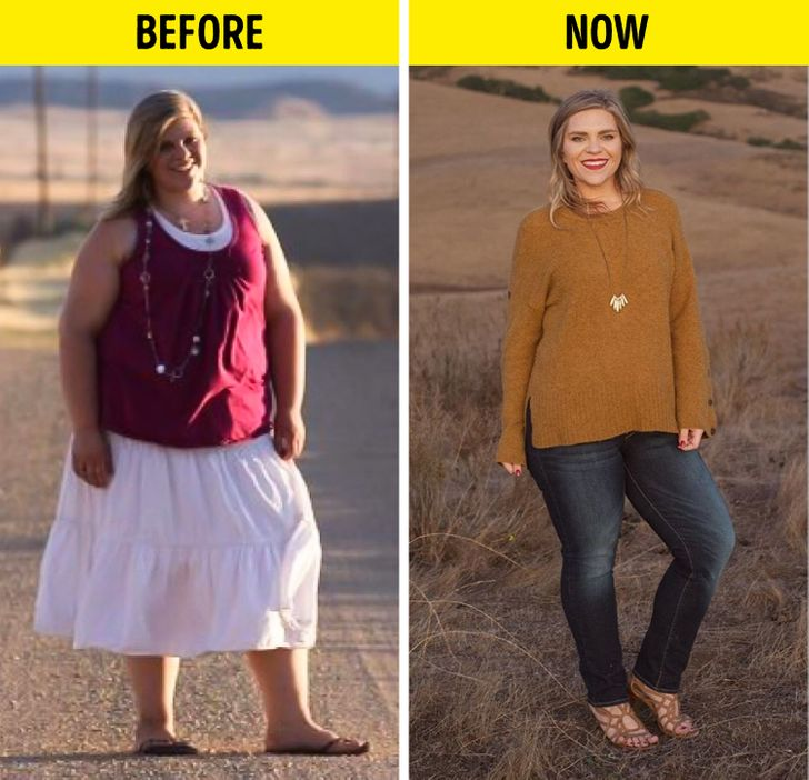 A Woman Loses 130 Lbs In 1 Year by Changing 5 of Her Habits