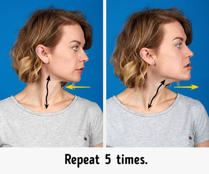6 Effective Exercises to Get Rid of a Double Chin