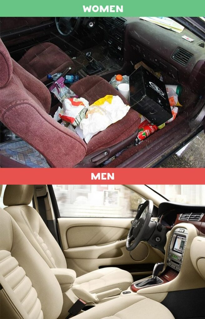 10 Photos Differences Between Men and Women