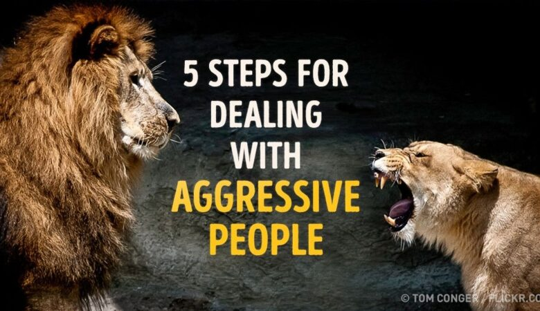 5 Steps To Deal With Aggressive People