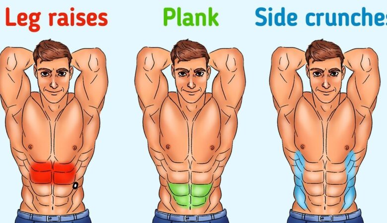 8 At-Home Abs Workouts to Get Six-pack Abs Without Go to the Gym