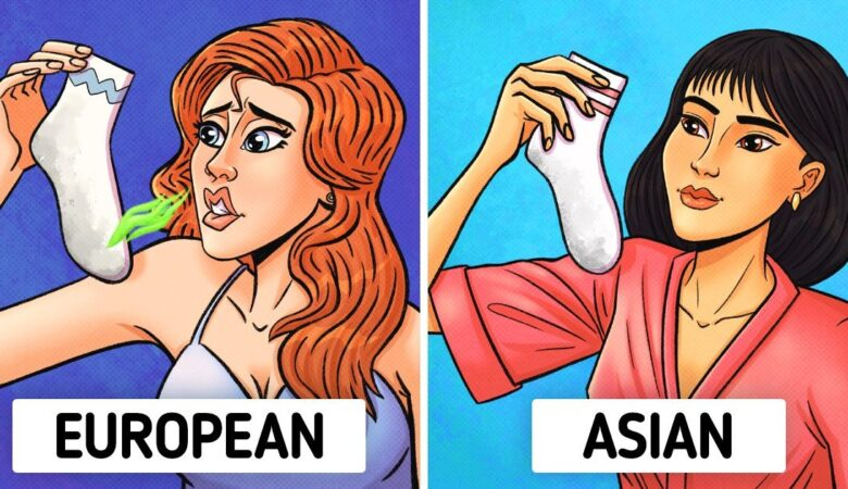 Why Most Asian People Don't Need to Use Deodorant