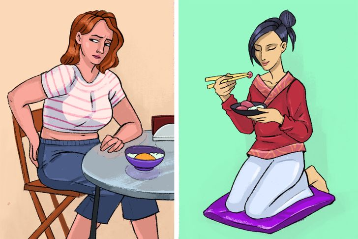 Why People in Japan Sit on the Floor to Eat