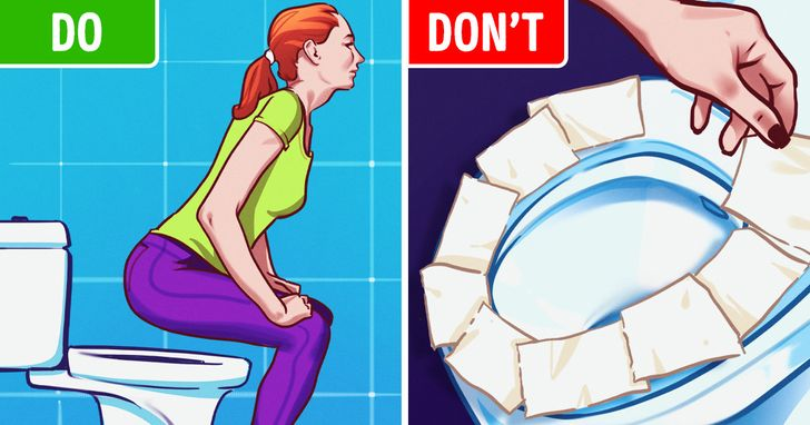 Why You Should Stop Putting Toilet Paper on Public Toilet Seats
