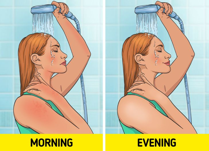 6 Reasons You Should Shower At Night Not In The Morning