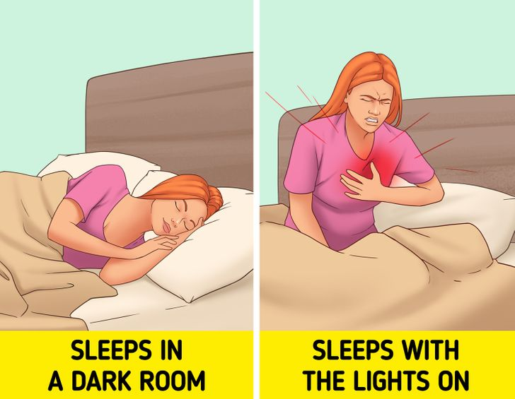 What Can Happen to You If You Sleep With the Lights On